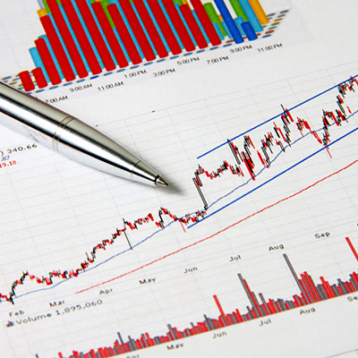 A business financial report showing the due diligence to buy a business